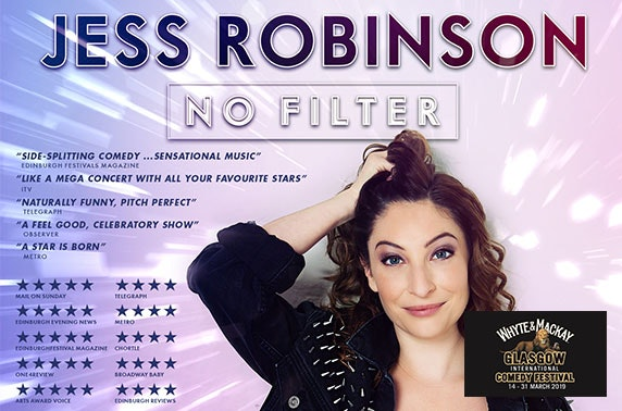 Jess Robinson at Oran Mor; White & MacKay Glasgow International Comedy Festival
