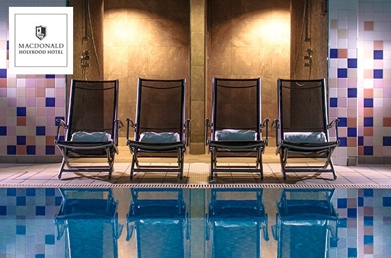 4* Macdonald Holyrood spa day