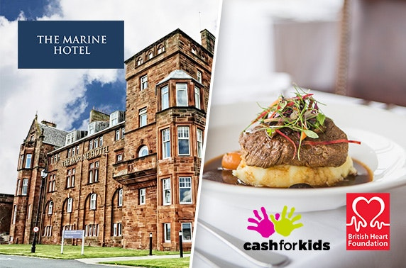 Mother's Day lunch & entertainment at 4* Marine Hotel, Troon