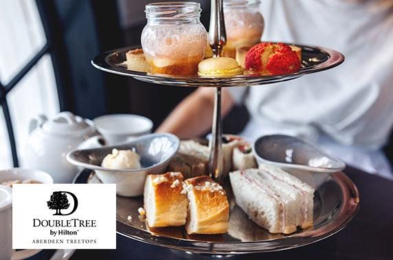Afternoon tea, 4* DoubleTree by Hilton Aberdeen Treetops