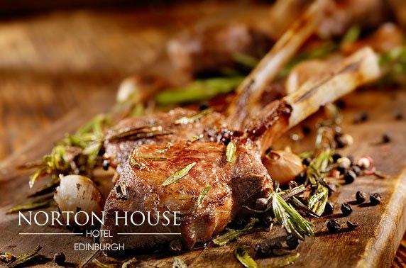 4* Norton House Hotel luxury stay, nr Edinburgh