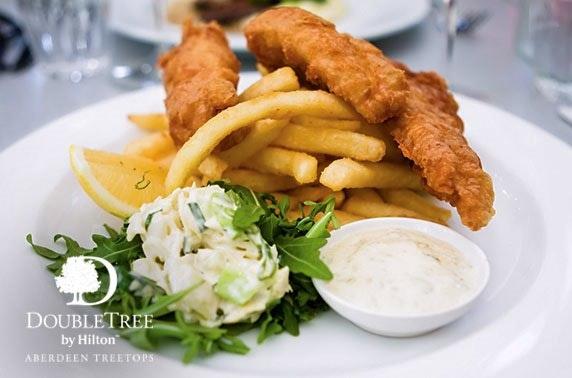 4* DoubleTree by Hilton Aberdeen Treetops lunch