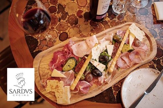 Sardus Vinoteca dining, Deansgate