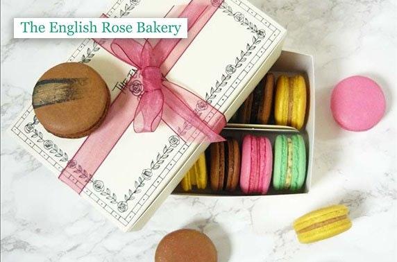 English Rose Bakery macarons