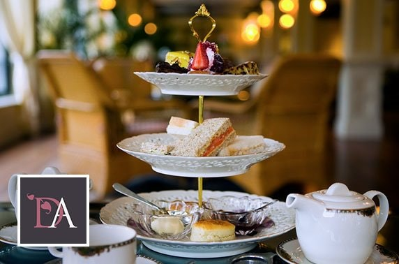 Afternoon tea, award-winning Dumfries Arms Hotel
