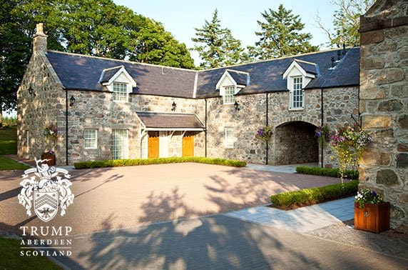5* MacLeod House, Trump Aberdeen luxury stay