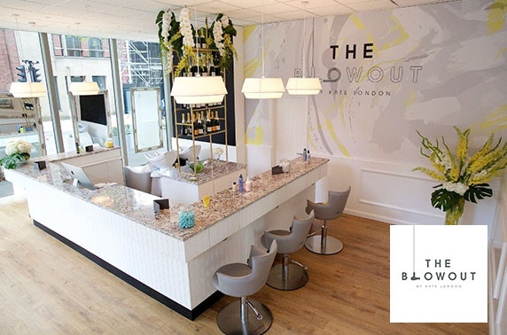 Blow dry & Champagne at The Blowout by Kate London, Spinningfields