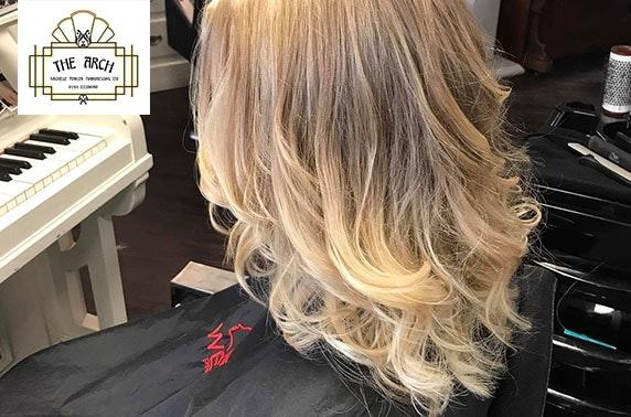 The Arch hair treatments, City Centre