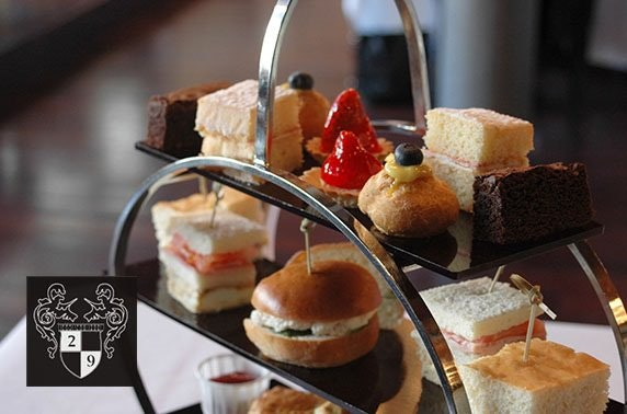Mother's Day afternoon tea, Royal Exchange Square