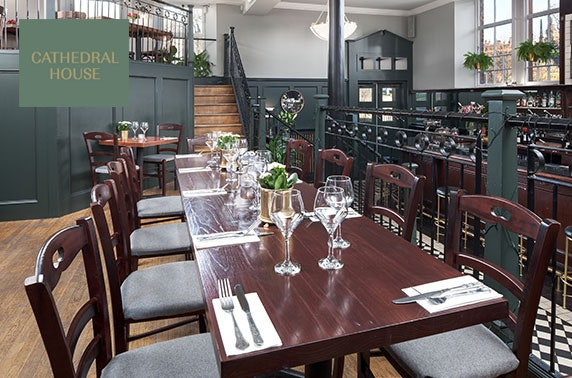 Fully refurbed Cathedral House dining, Merchant City