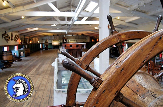 HMS Unicorn tickets from £2.50pp