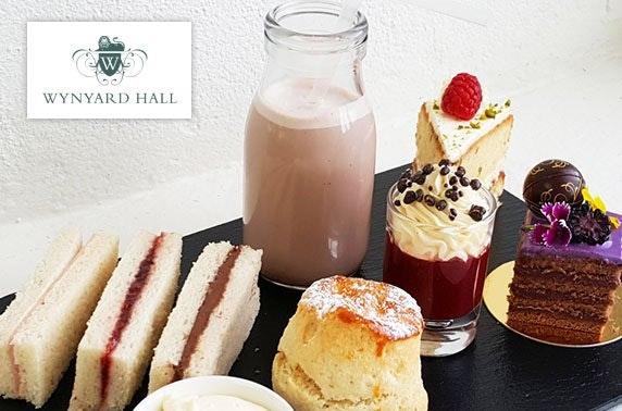 4* Wynyard Hall Prosecco afternoon tea