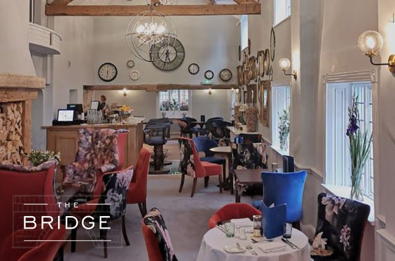 The Bridge afternoon tea, Cheshire