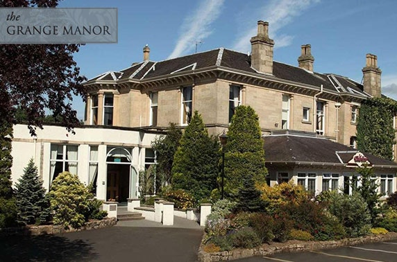 4* Grange Manor Hotel afternoon tea