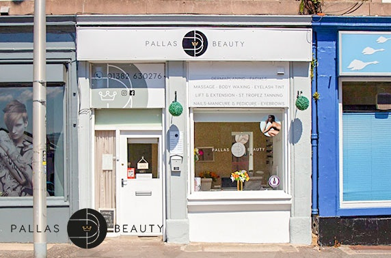 Shellac at brand new Pallas Beauty, West End
