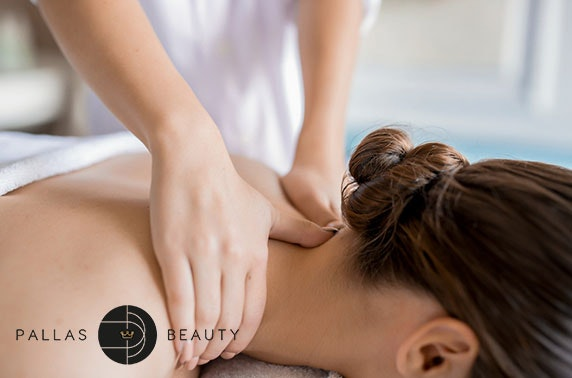 Facial & massage at brand new Pallas Beauty, West End
