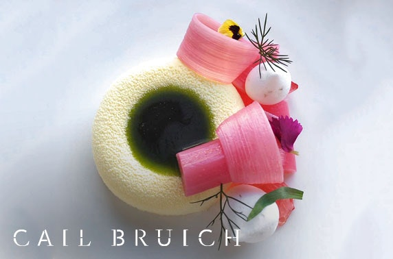 3 AA Rosette Cail Bruich dining