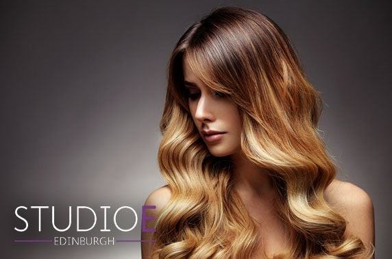 Newly-opened Studio E cut & blow dry