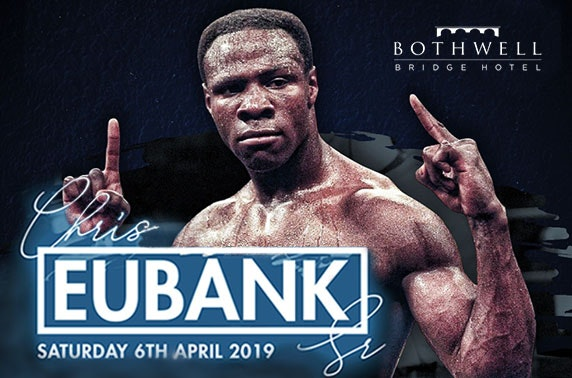 An Evening with Chris Eubank Snr at Bothwell Bridge Hotel