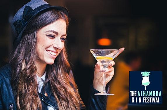 The Alhambra Gin Festival, Stirling