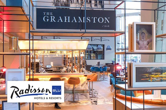 4* Radisson Blu Glasgow overnight stay