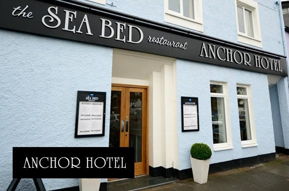 Romantic Anchor Hotel getaway, Argyll