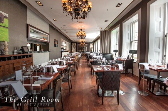 Prosecco dining, The Grill Room at the Square