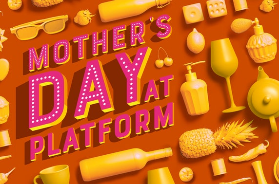 Mother's Day afternoon tea at Platform, Argyle Street Arches
