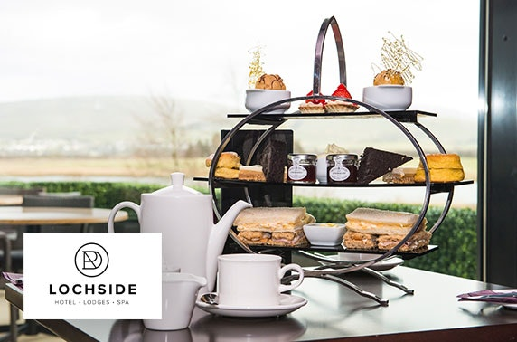4* Lochside House afternoon tea