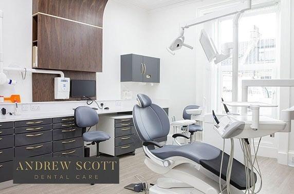 Private whitening & dental treatments at Andrew Scott Dental