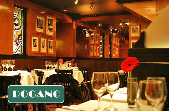 Mother's Day lunch or dinner at Café Rogano