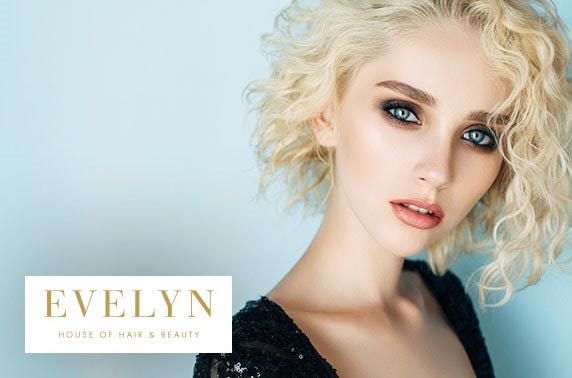 House of Evelyn hair colour and Prosecco, City Centre