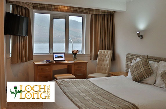 Loch Long Hotel DBB, near Loch Lomond - £69