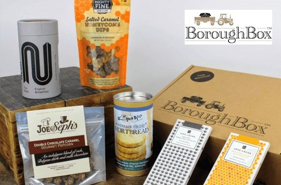 Gourmet food & drink gift boxes from BoroughBox