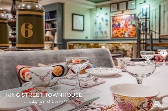 King Street Townhouse afternoon tea