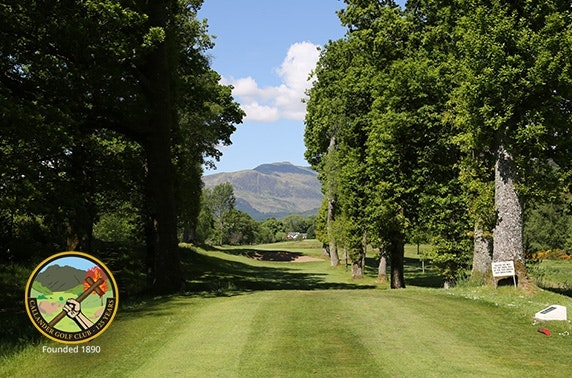 Callander Golf Club round & food