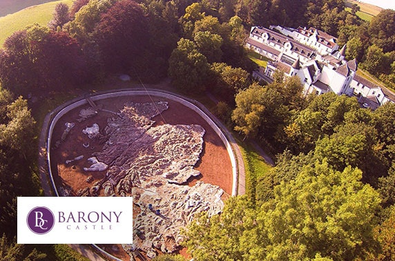 Barony Castle DBB getaway, Peebles