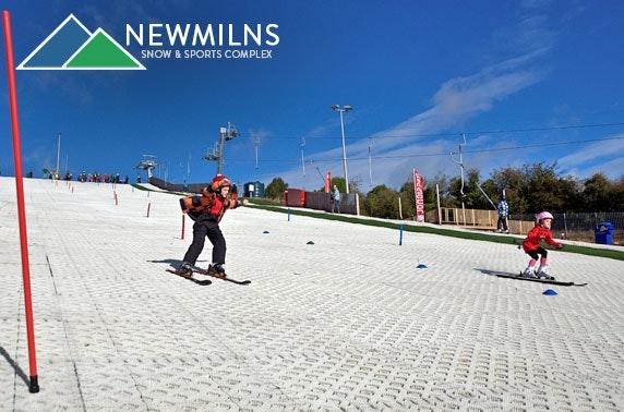 Snow sports at Newmilns Snow & Sports Complex