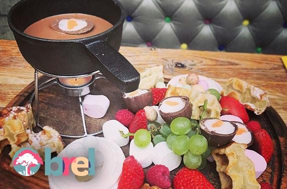 Creme Egg fondue, Brel