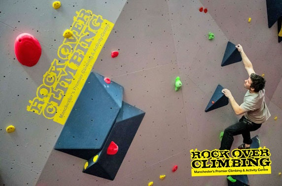 Rock Over Climbing sessions