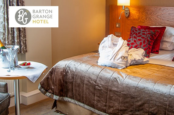 Overnight stay and activities at Barton Grange