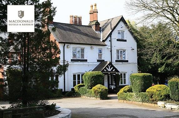 Charming Cheshire break - £49