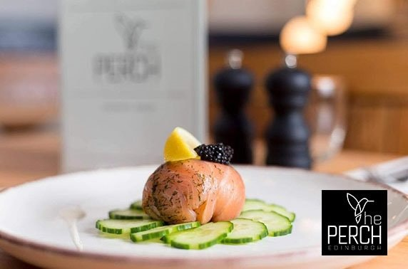 Recently-opened The Perch dining, City Centre