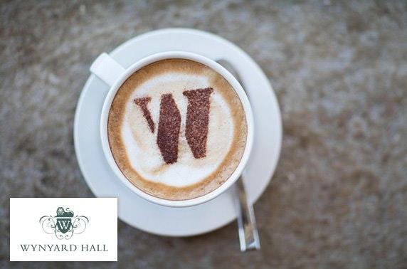 Wynyard Hall gardens inc cake & drinks