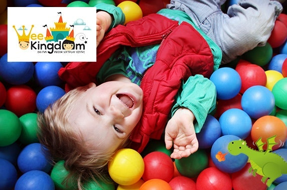 Wee Kingdom indoor soft play & meal deals