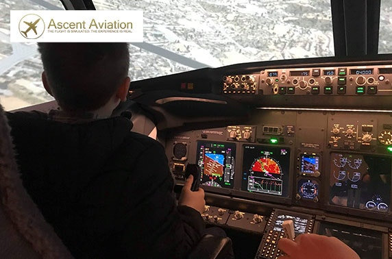 Flight simulator experience with Ascent Aviation, Paisley