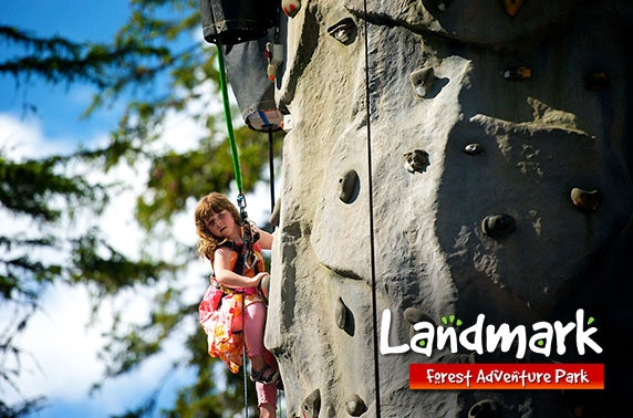 4* Landmark Forest Adventure Park, nr Aviemore