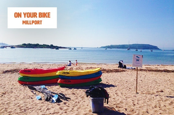 Bike, scooter or kayak hire, Millport