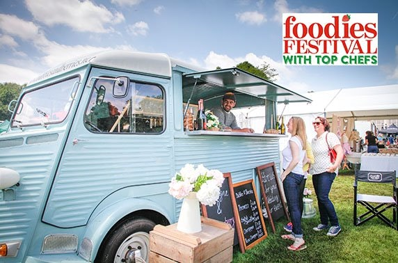 Foodies Festival 2019, Inverleith Park
