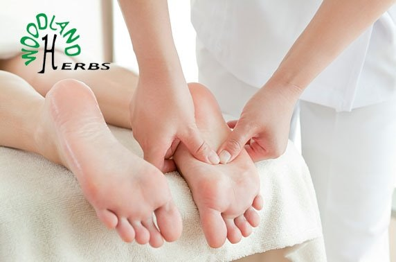 Relaxing treatments at Woodland Herbs, West End